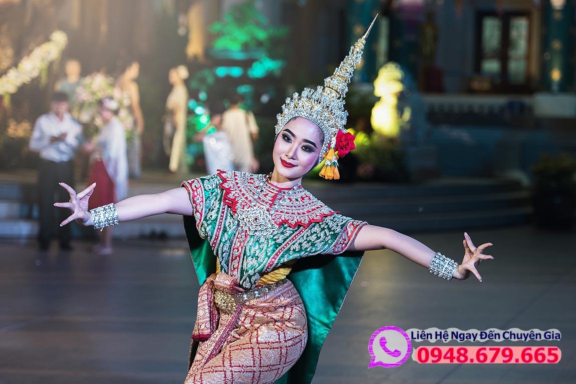 Điệu Múa Truyền Thống ở Thái Lan