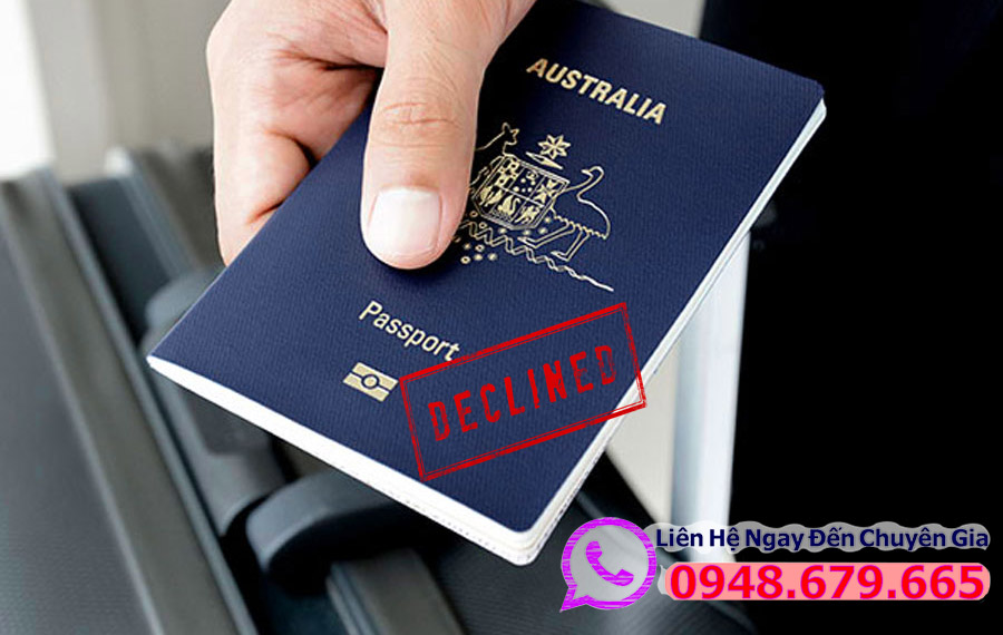 Visa úc Bị Từ Chối