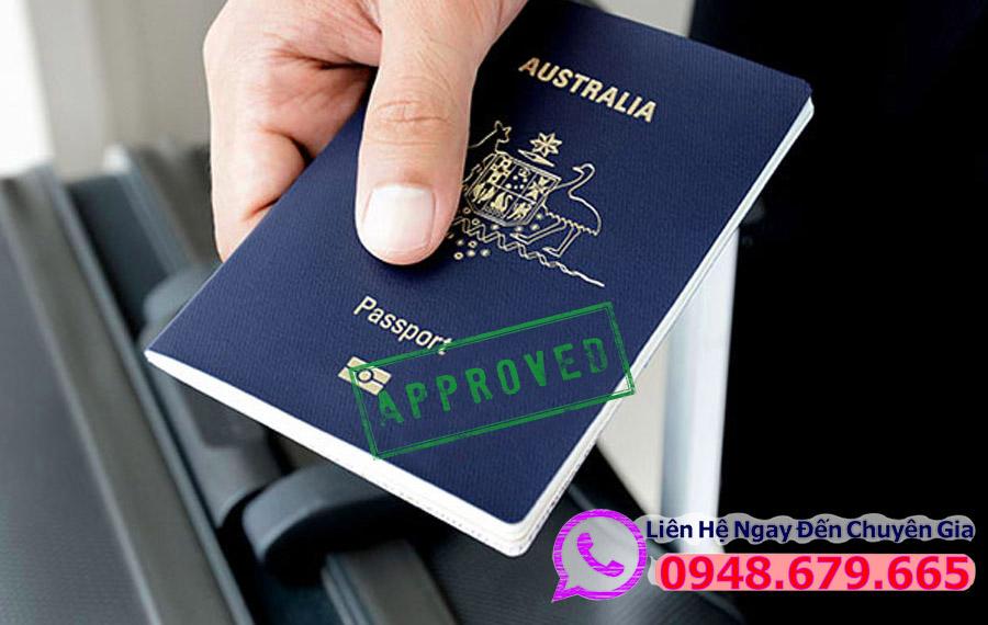 Visa Úc được cấp