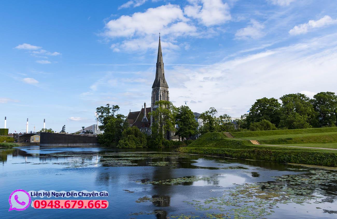 Phong cảnh thủ đô Copenhagen