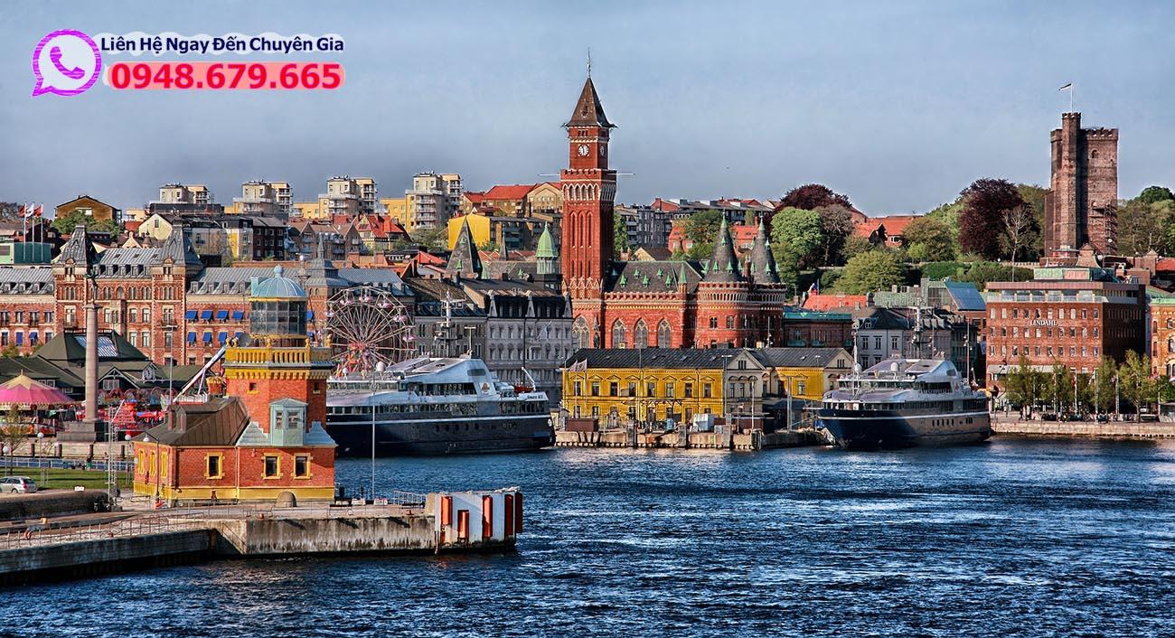 Cảng biển Đan Mạch