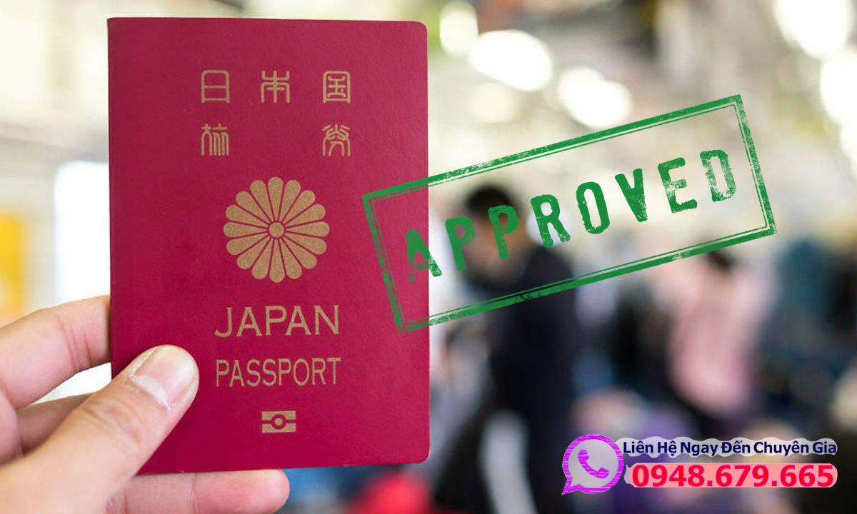 Visa Nhật Bản được chấp thuận
