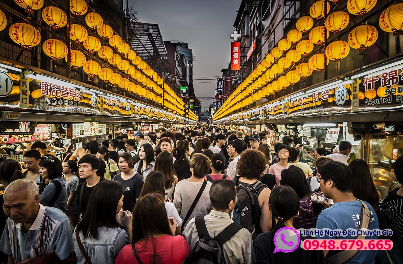 Chợ Đêm ở Đài Bắc