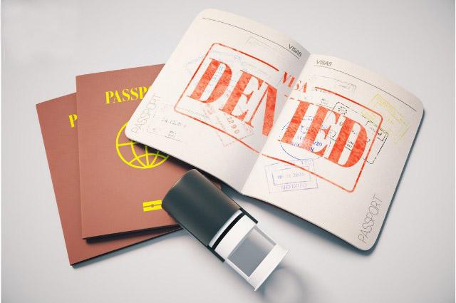 Trượt Visa