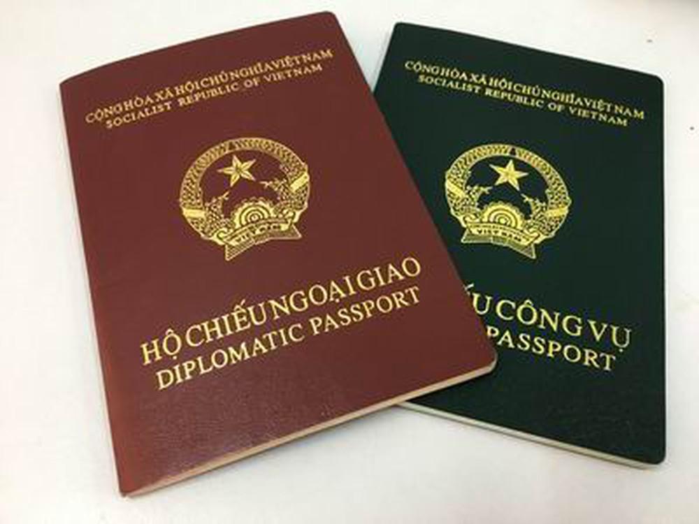 Hộ chiếu công vụ và ngoại giao