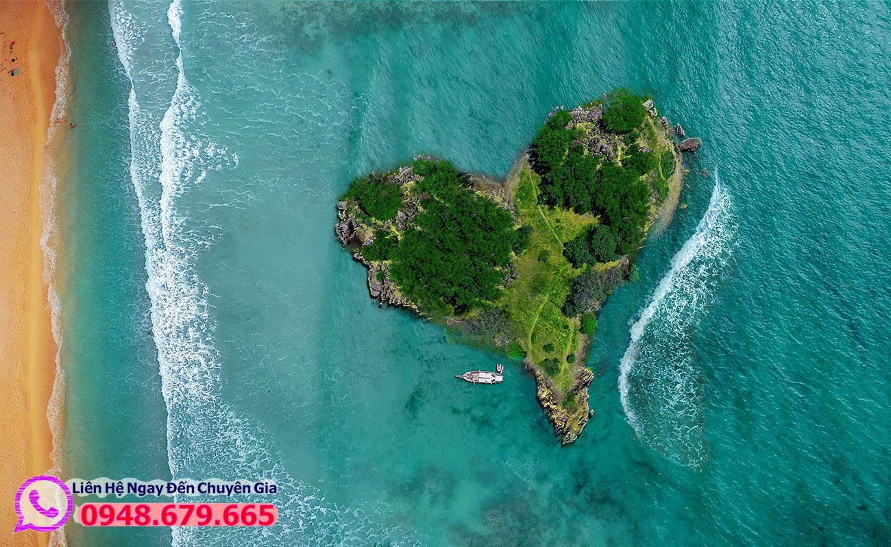 Thư giãn ở Hòn đảo trái tim