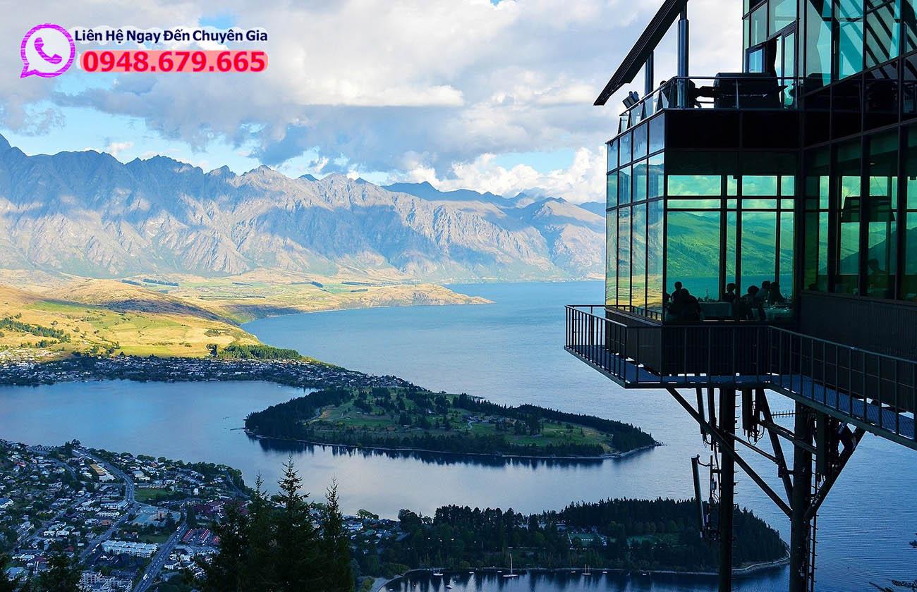Phong cảnh tại New Zealand