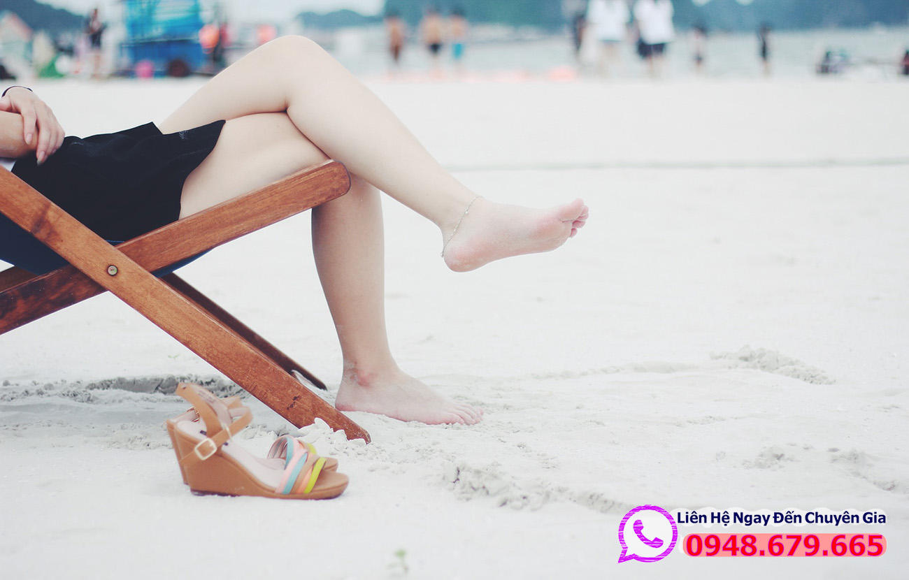 thư giãn ở bãi biển