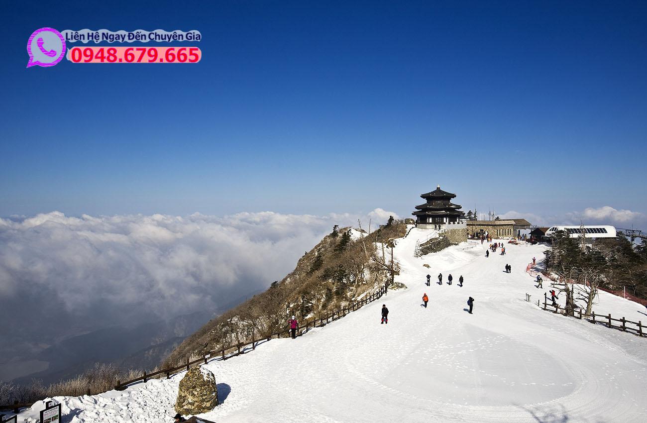 Điểm trượt tuyết deogyusan-1222918_1920
