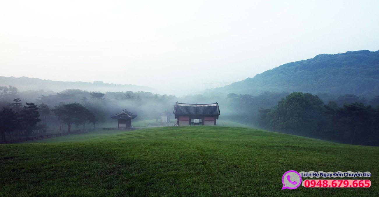 Phong cảnh Làng Quê Hàn Quốc