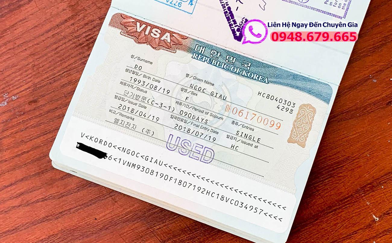 Visa Hàn Quốc Khi Nào Có