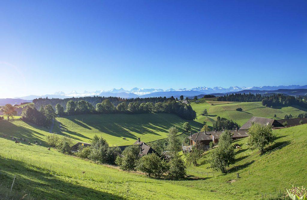 Cuộc sống cạnh dãy Alps