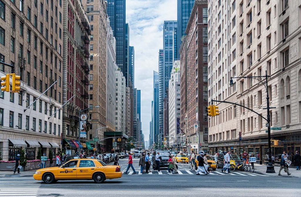 Đường phố Newyork - Mỹ