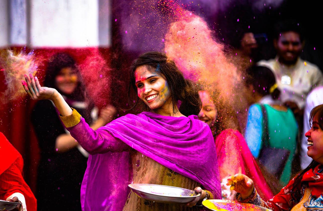 Lễ Hội sắc màu ở Ấn Độ
