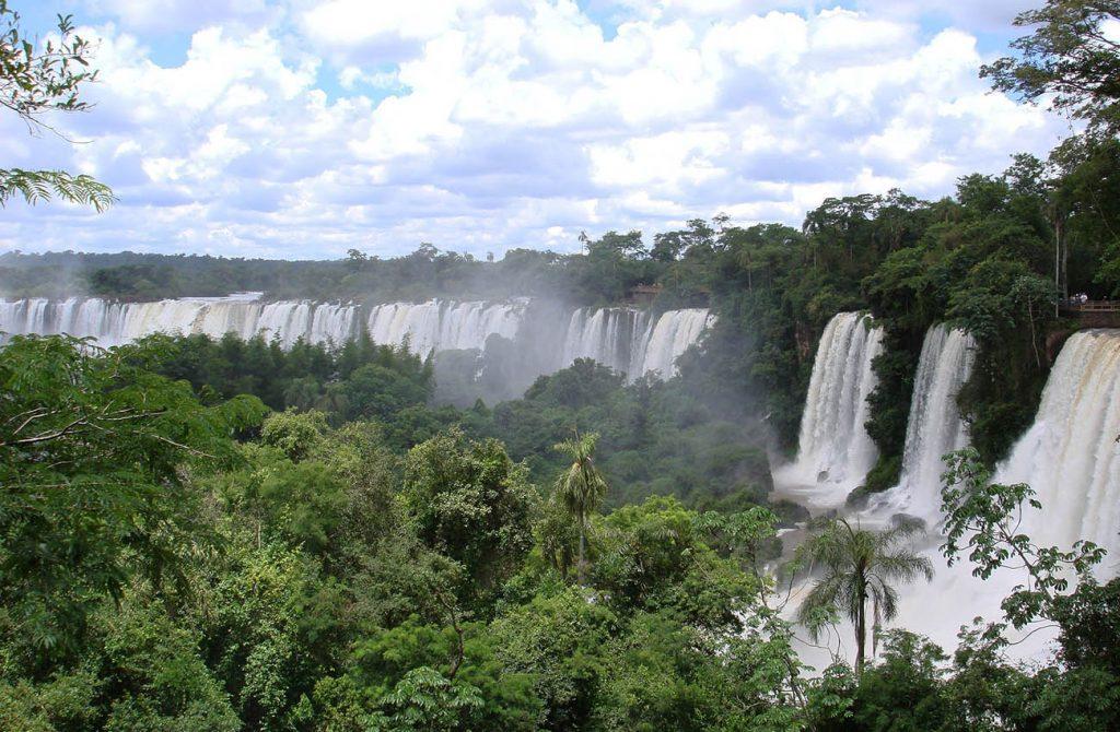 Thác iguassu ở Brazil