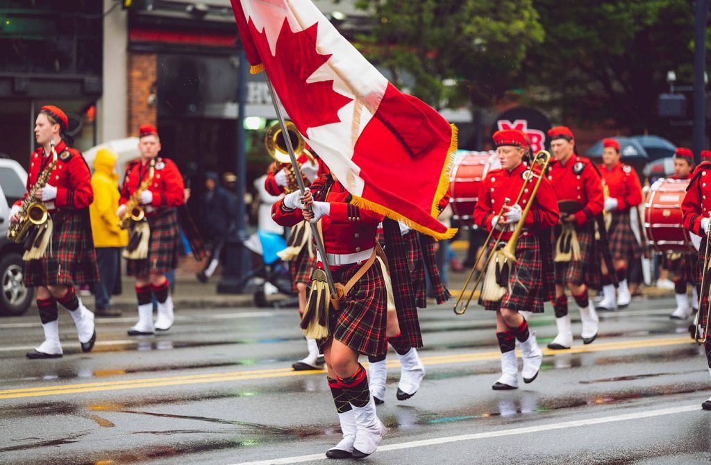 Trang phục truyền thống Canada