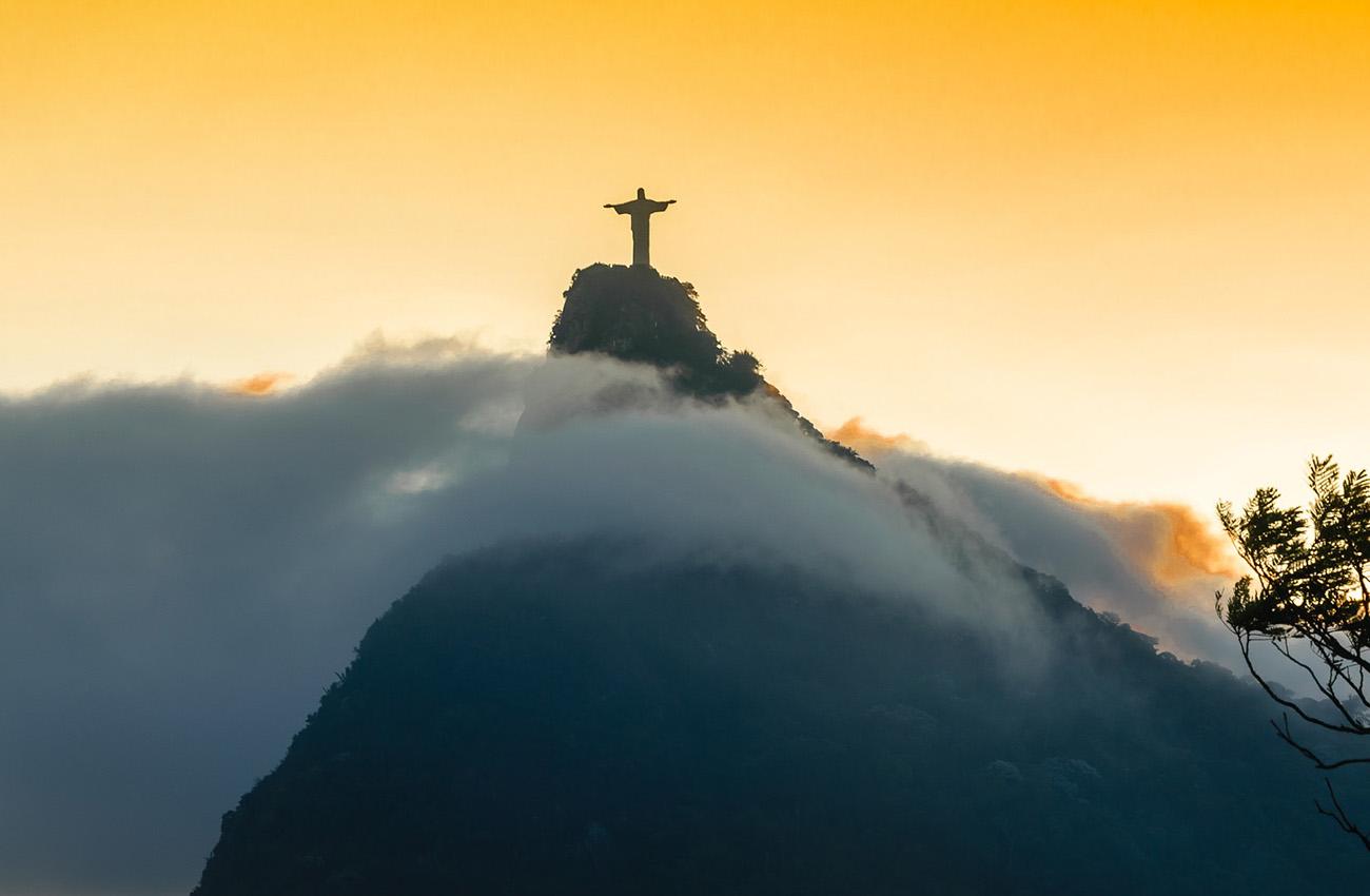 Tượng chúa Jesus ở Rio, Brazil