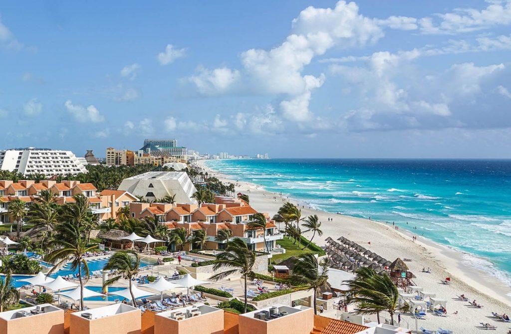 Bãi biển Cancun Mexico