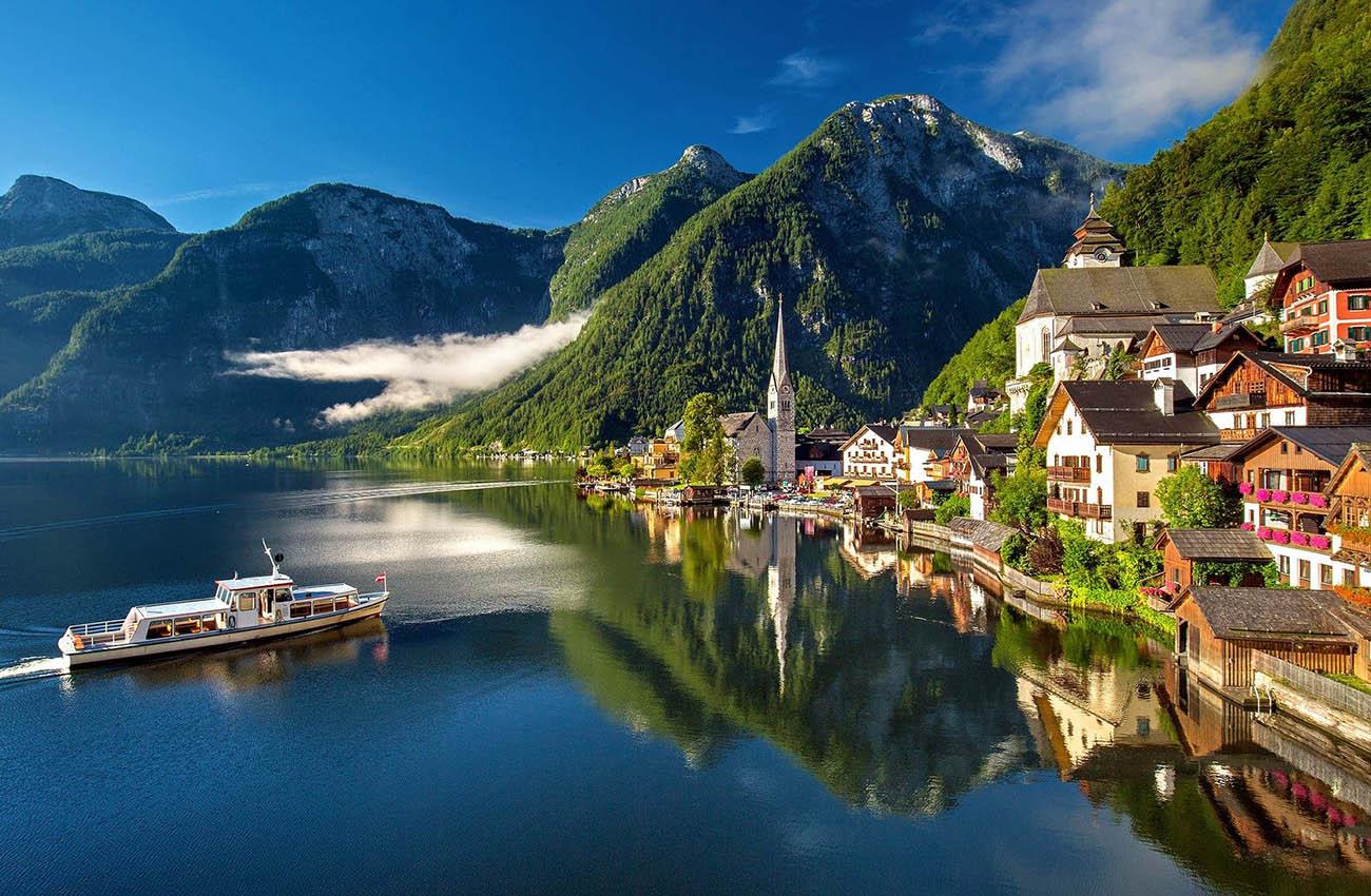 Hallstatt Nước Áo