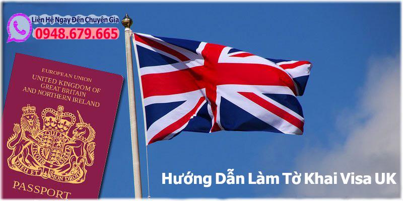 Làm Tờ khai VISA UK