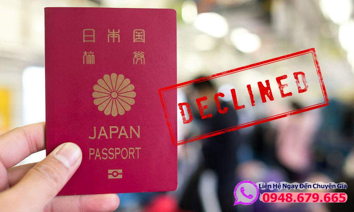 Bị từ chối Visa Nhật Bản