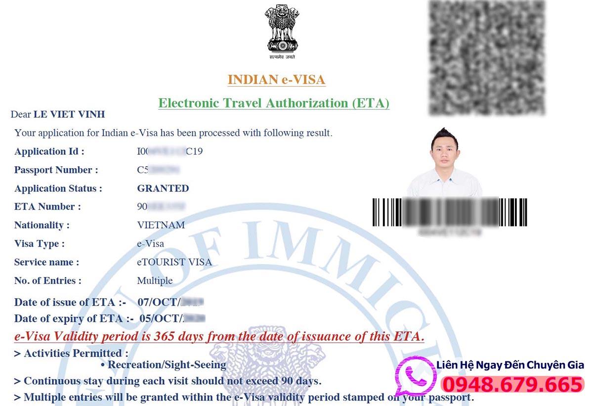 Visa Online Ấn Độ