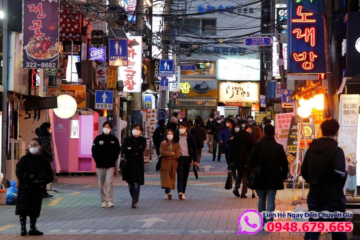 Khách hàng đã từng đi Hàn Quốc