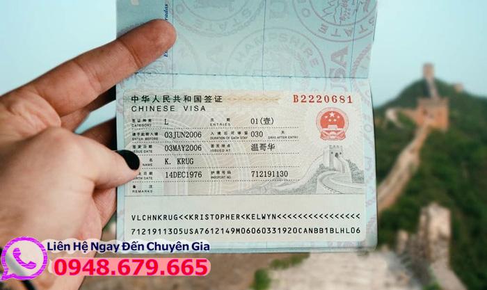 Visa Đi Trung Quốc
