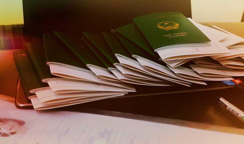 Hồ sơ xin Visa