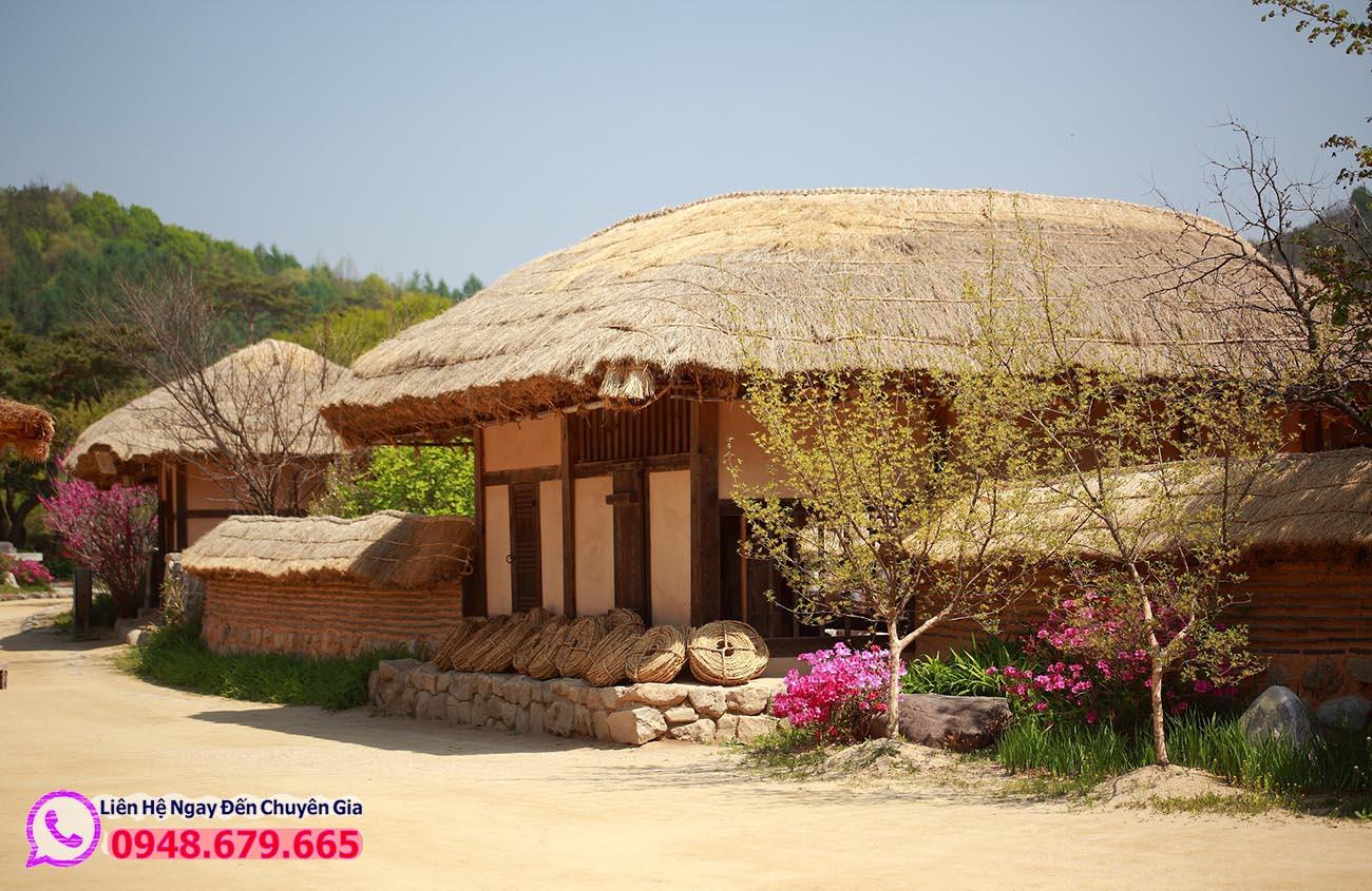 Ngôi nhà truyền thống ở Hàn Quốc