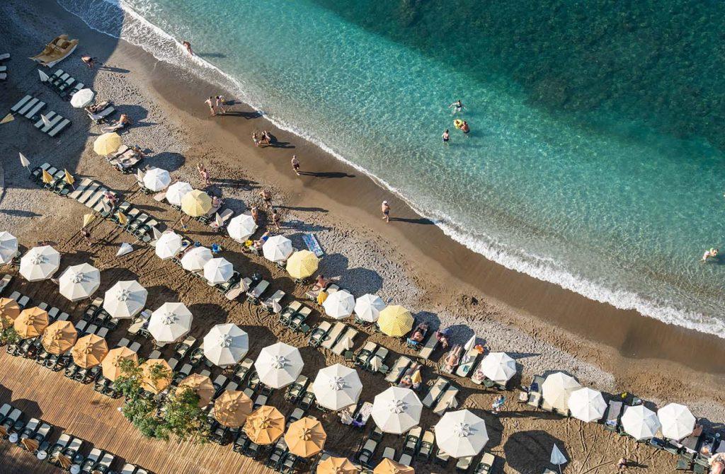 Bãi tắm biển ở thổ nhĩ kỳ