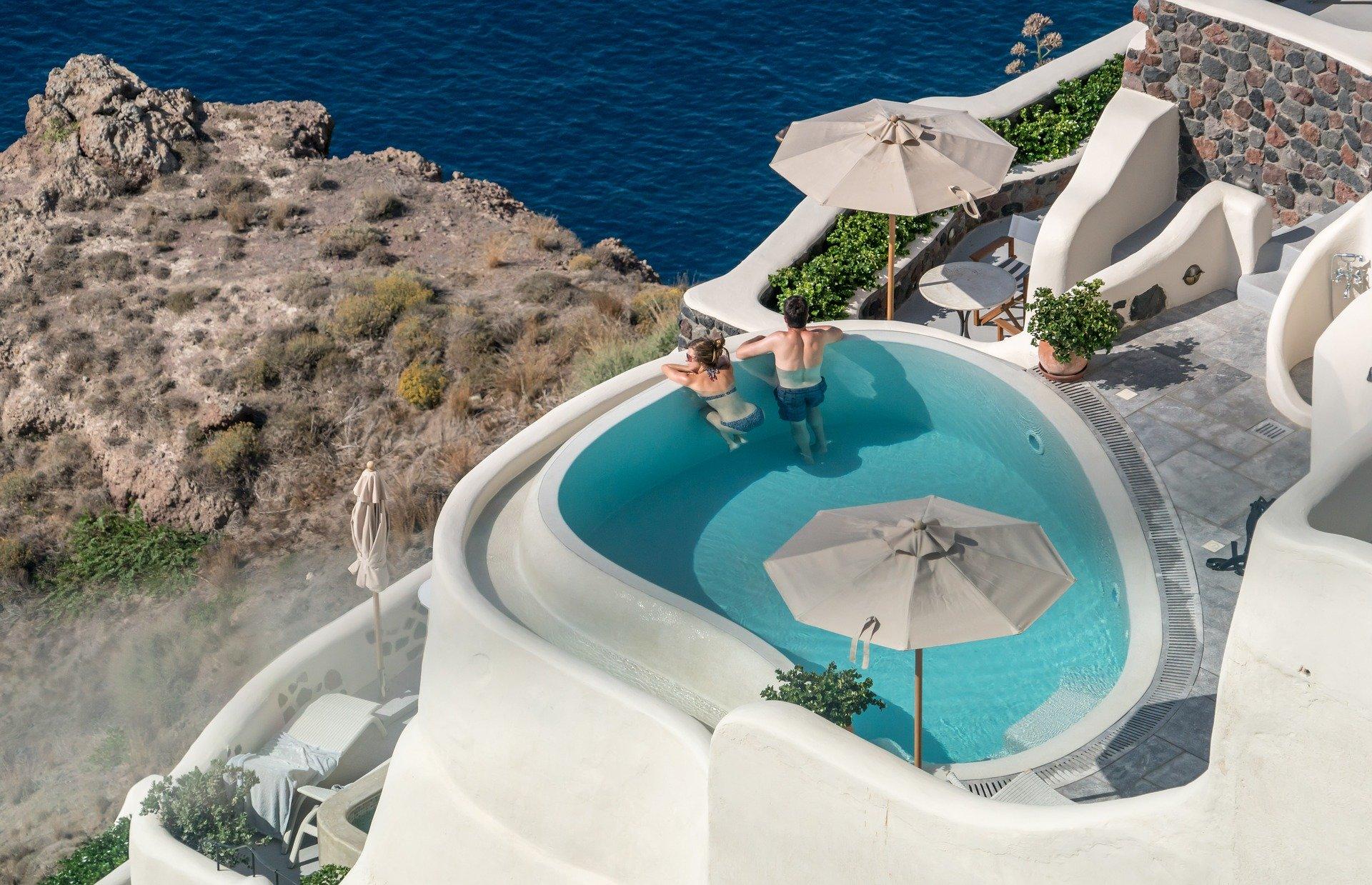 Biển Santorini Hy Lạp