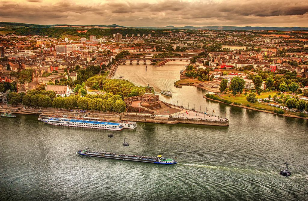 Cảng Koblenz nước Đức