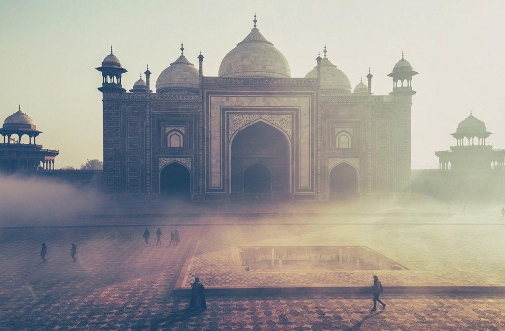 Đền Taj Mahal ở Ấn Độ