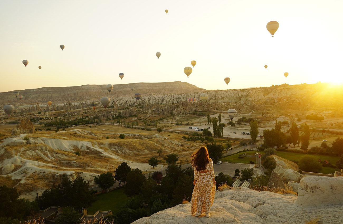 Du Lịch Trên Khinh Khí Cầu ở Thổ Nhĩ Kỳ