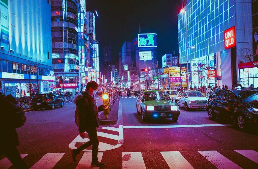 Đường phố Nhật Bản