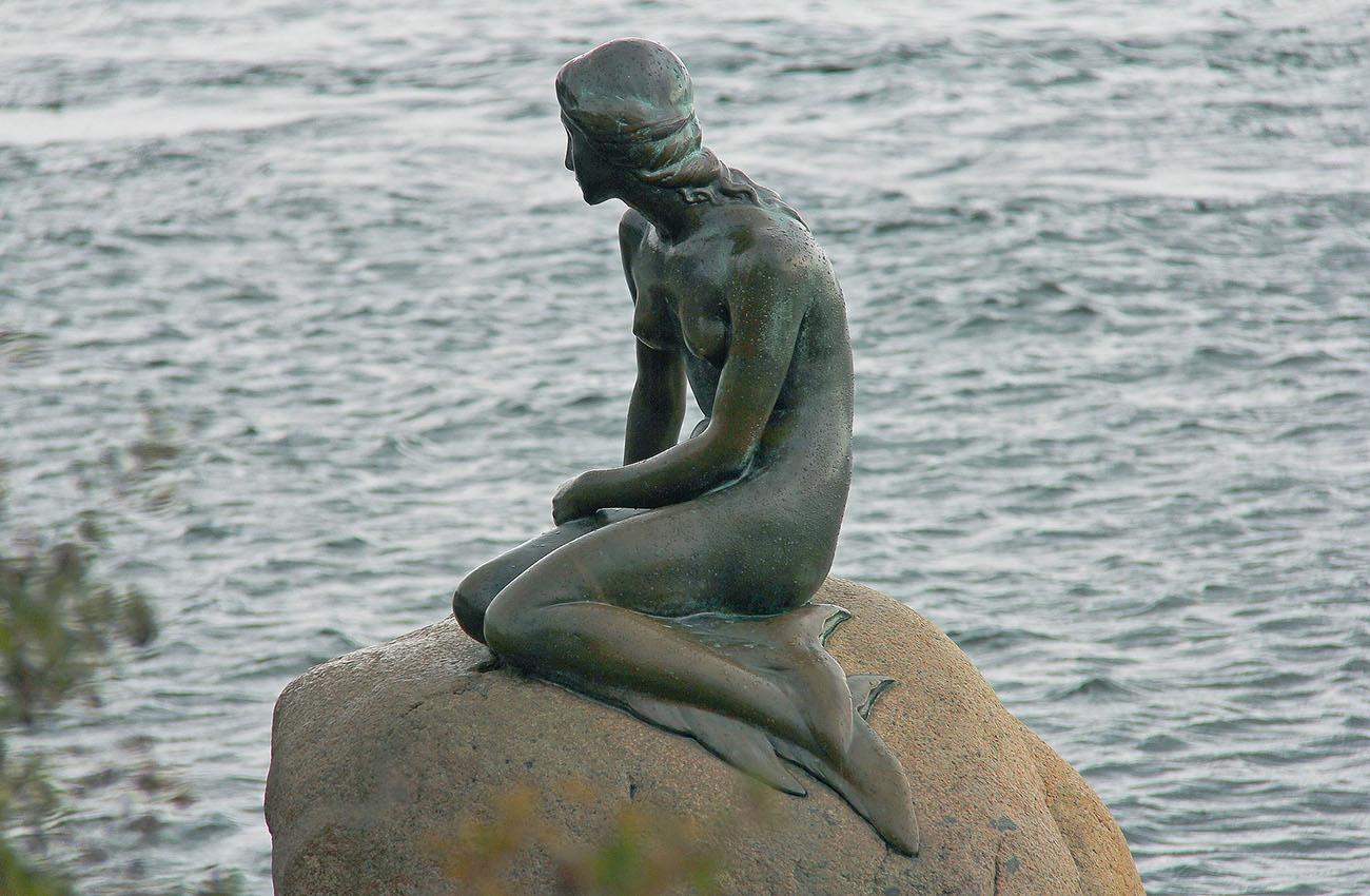 Biểu tượng Nàng Tiên Cá Của Đan Mạch