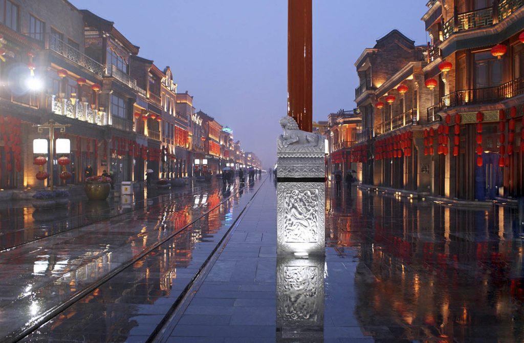 Phố đi bộ Nam Kinh Trung Quốc