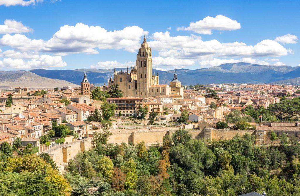 Thành phố Segovia