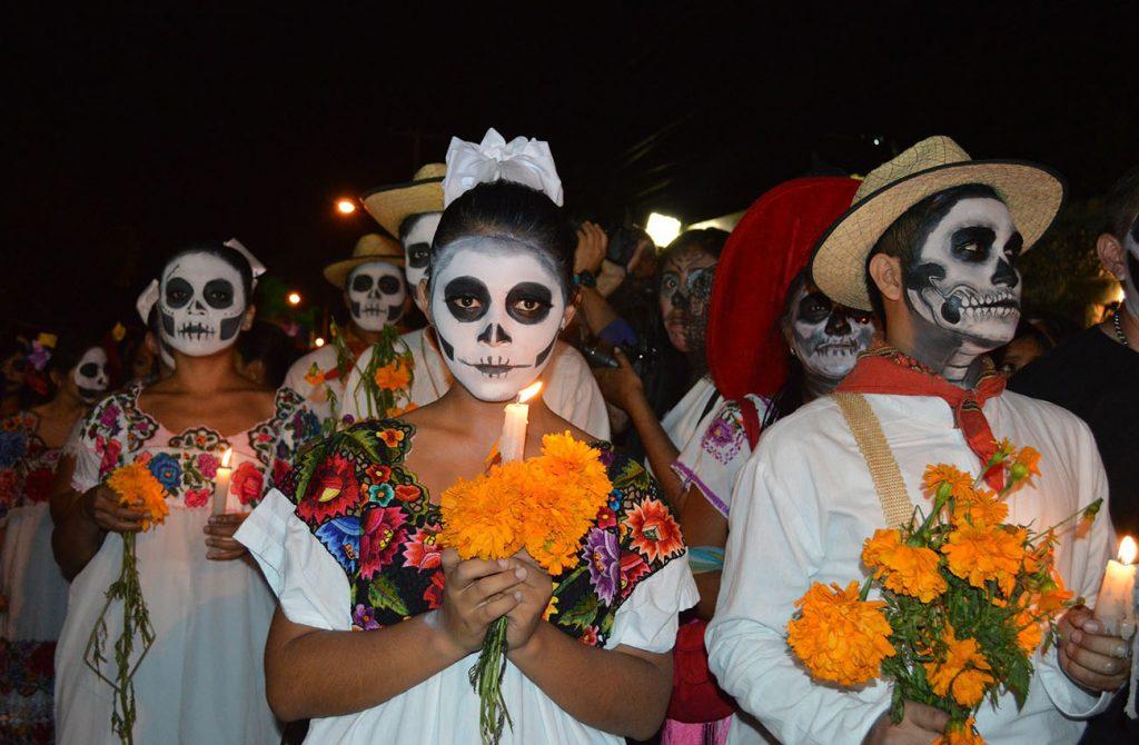 Lễ hội thần chết ở Mexico