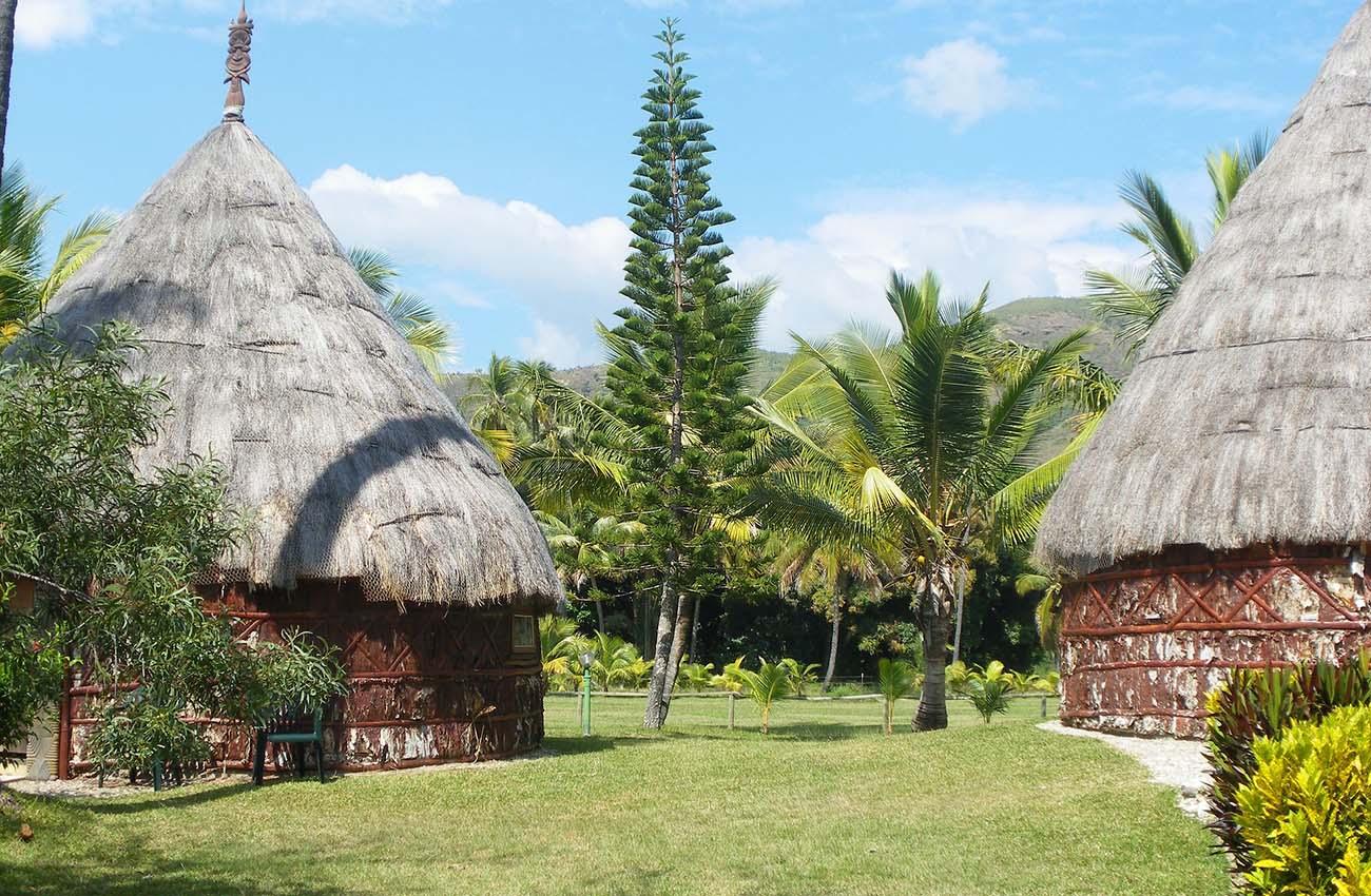 Nhà truyền thống dân tộc ở New Caledonia