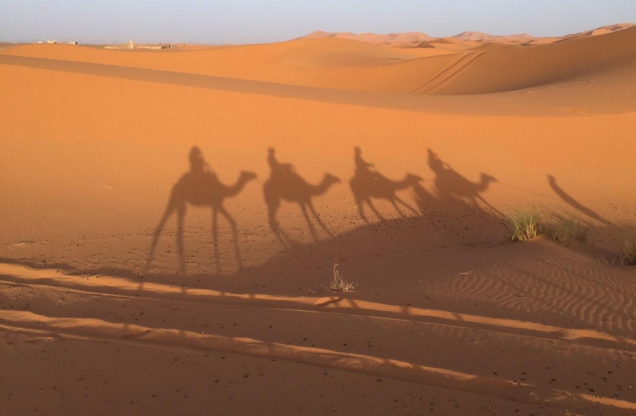 Sa mạc ở Ma Rốc